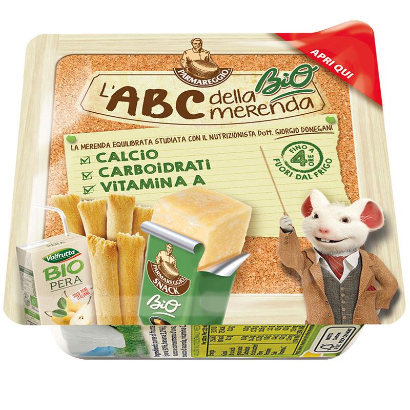 L'ABC della merenda Parmareggio Kit borsa