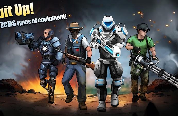 Flat Army: Sniper War v1.12.22 [Mod]