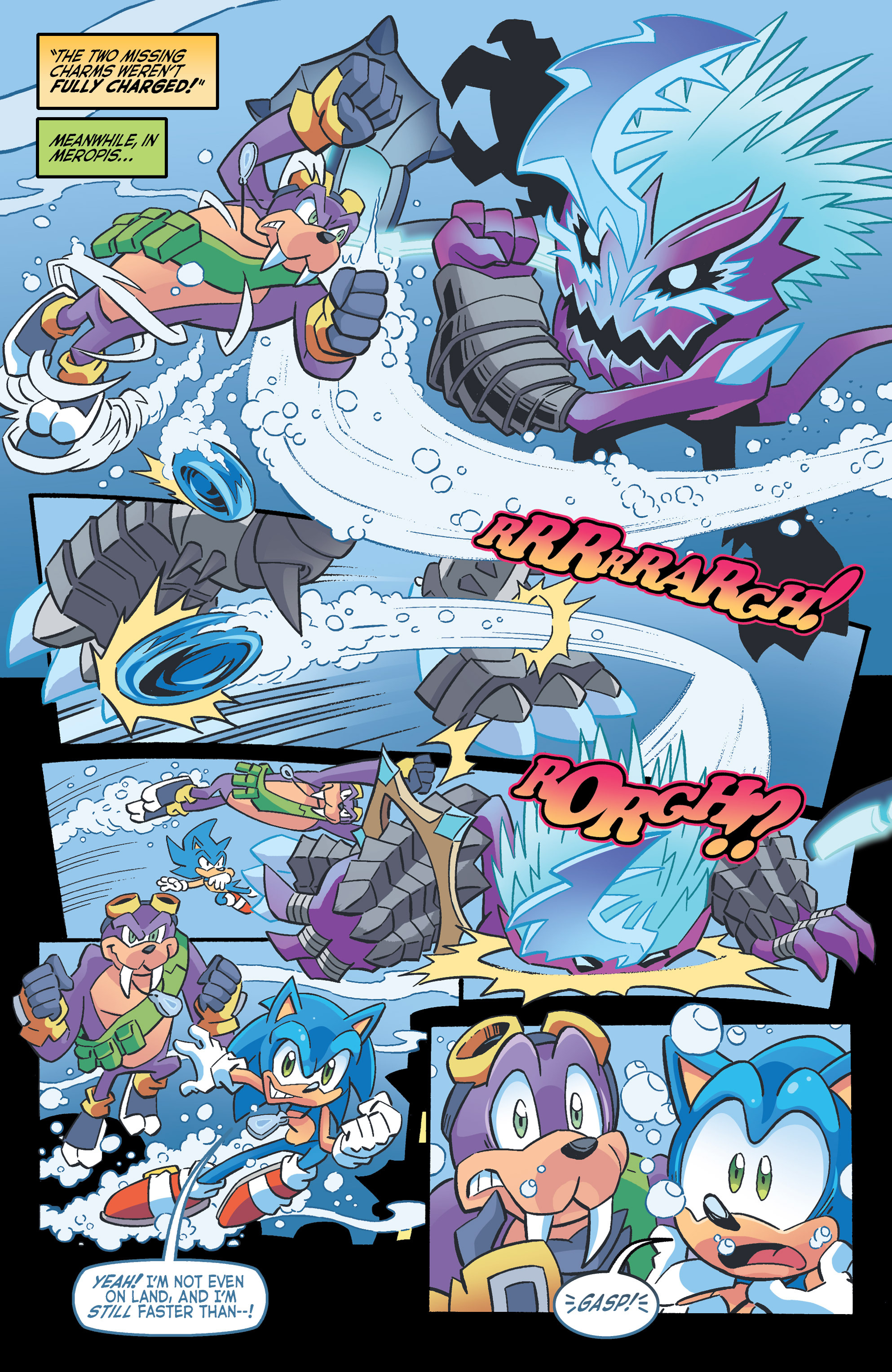 Read online Sonic The Hedgehog comic -  Issue #262 - 14