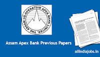 Assam Apex Bank PO Previous Papers