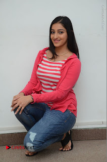 Telugu Actress Mouryani Latest Pos in Blue Denim Jeans  0201.JPG