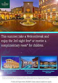 itc hotels flyer
