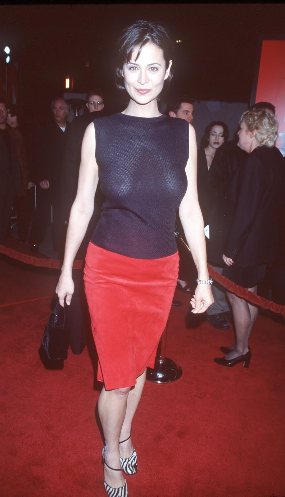 Catherine Bell Topless Red Shoe Diaries