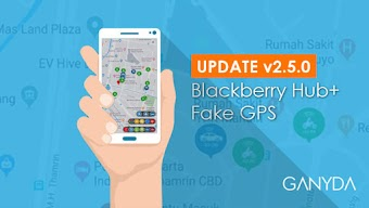 [UPDATE] Aplikasi Fake GPS Blackberry Hub+ Versi 2.5.0 Terbaru