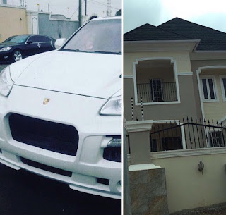 I worked hard to get these - Raheem Lawal flaunts house & new car