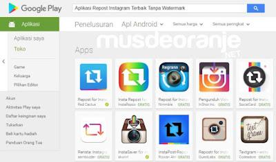 Aplikasi Repost Instagram Terbaik Tanpa Watermark
