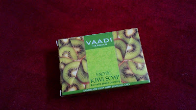 Vaadi Herbals Exotic Kiwi Soap - Review