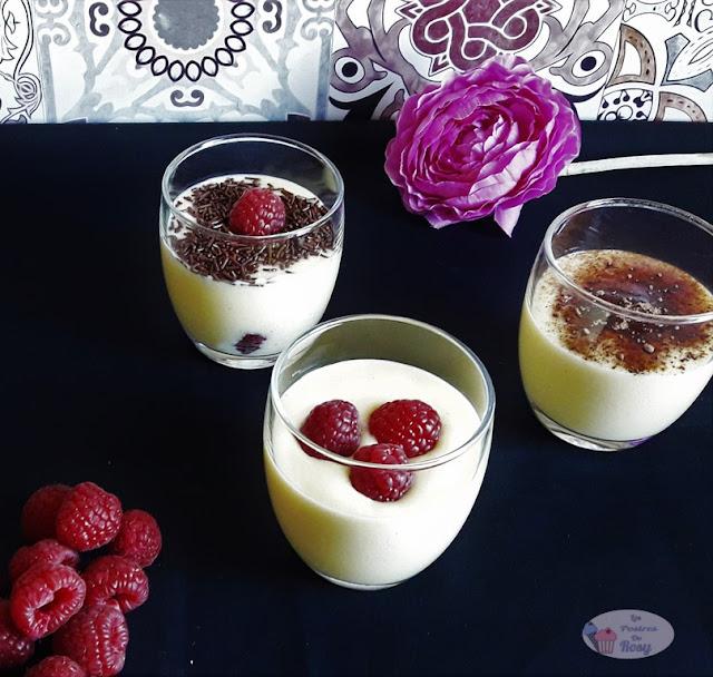 receta de natillas caseras sin glúten, sin lactosa