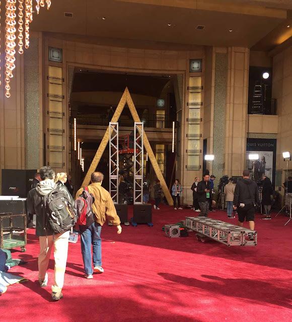 Dolby-teatterin punainen matto