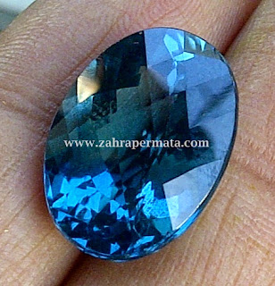 Batu Permata London Blue Topaz