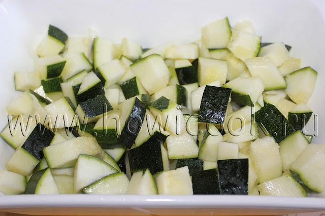 рецепт кабачков в духовке с пошаговыми фото