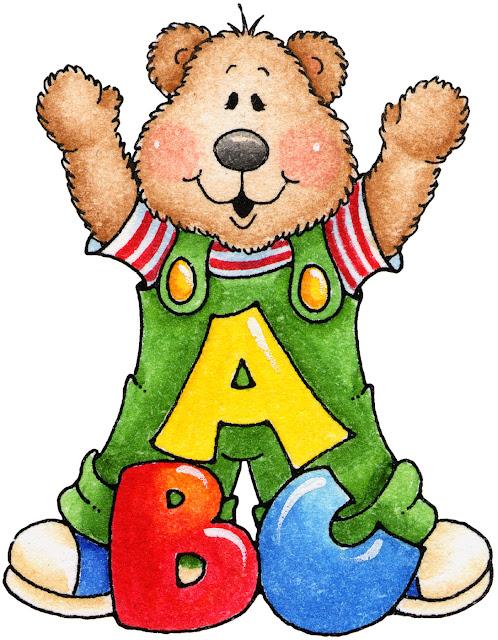Desenhos de ursinhos estudando | Pra Gente Miúda