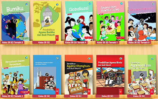 Buku Paket kelas 6 Kurikulum 2013 Revisi Terbaru