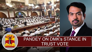 Rangaraj Pandey on DMK's stance on Trust Vote & Situation in TN Assembly
