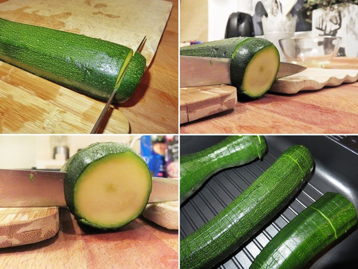 diy alles vonkarin hasselback zucchini mit trick. Black Bedroom Furniture Sets. Home Design Ideas