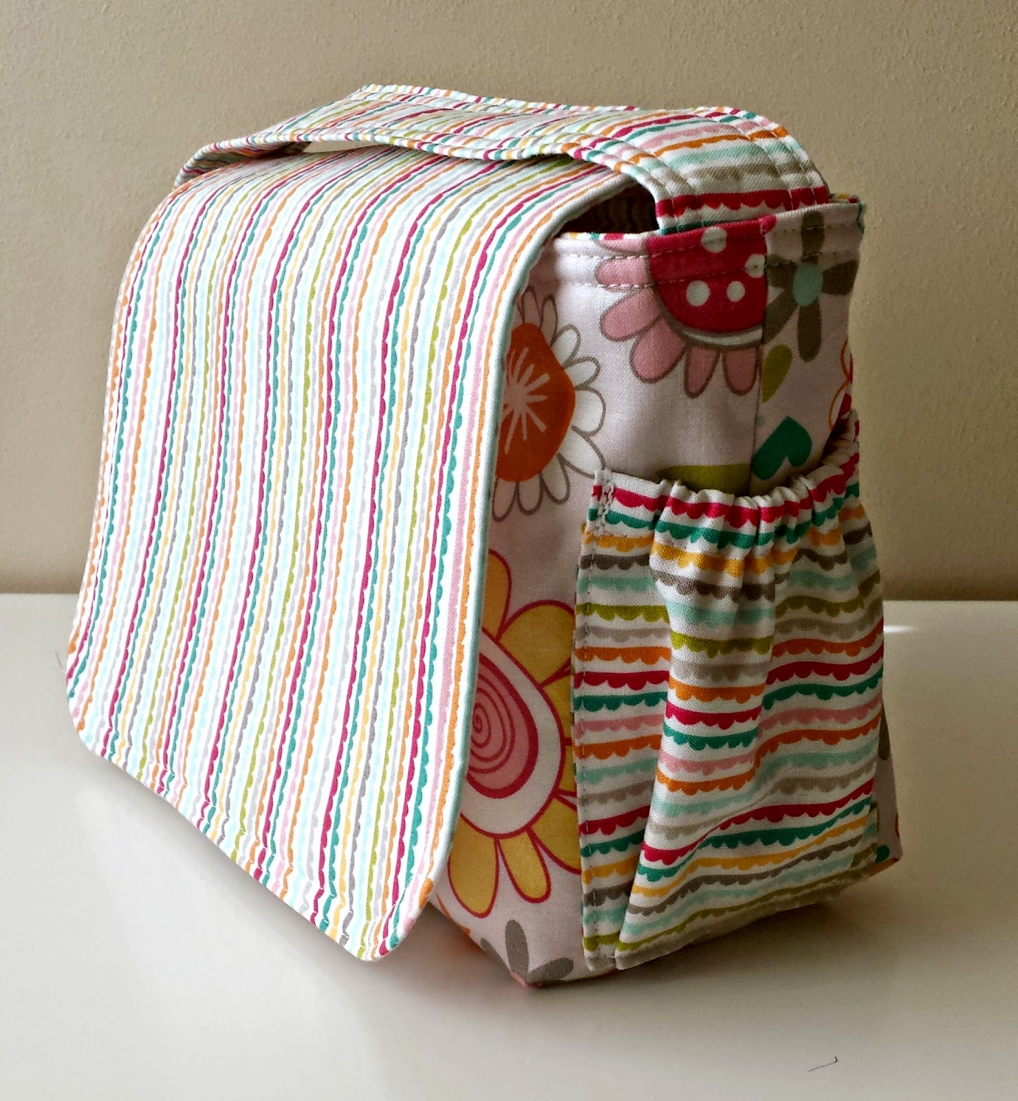 DIY Diaper Bag Tutorial featured by top US sewing blog, Ameroonie Designs