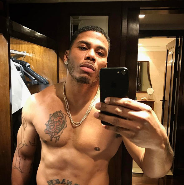 He's still got it! 42-year-old Nelly shares shirtless photo
