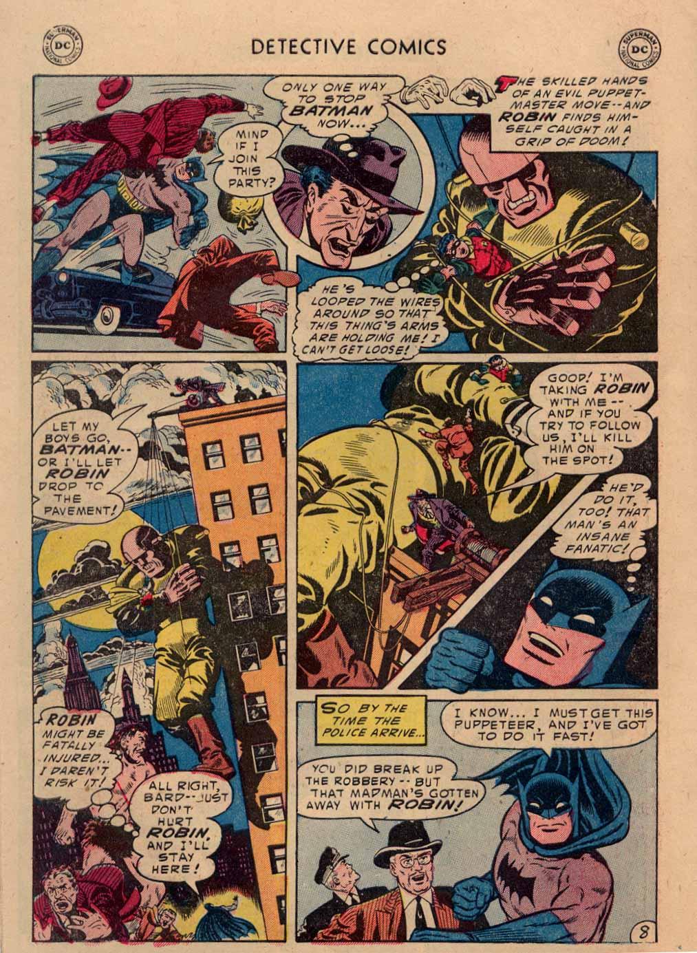 Read online Detective Comics (1937) comic -  Issue #212 - 9