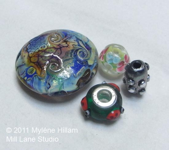 A collection of Large Hole Beads