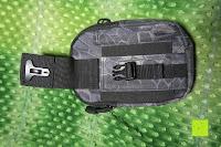 Schnallenverschluss: Greatlizard Außen multifunktionale Nylon taktische Tasche stark und dauerhaft im Freien Armee taktische Taschen (schwarz Python-Muster)