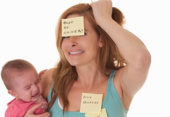 stress dan susu ibu