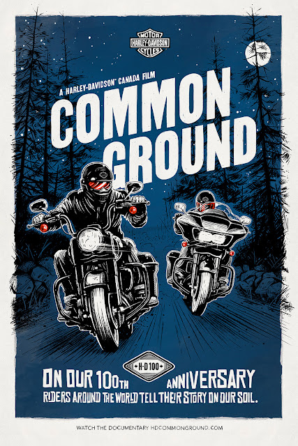 Harley-Davidson Paves New Ground with Online Docu-Series and Discovery Channel Special that Brings International Riders to Canada