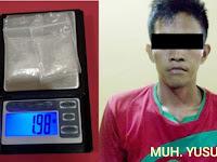 Jelang Ramadhan Pelaku Narkoba Masih Beraksi di Pangkep, 2 Orang Tertangkap Polisi