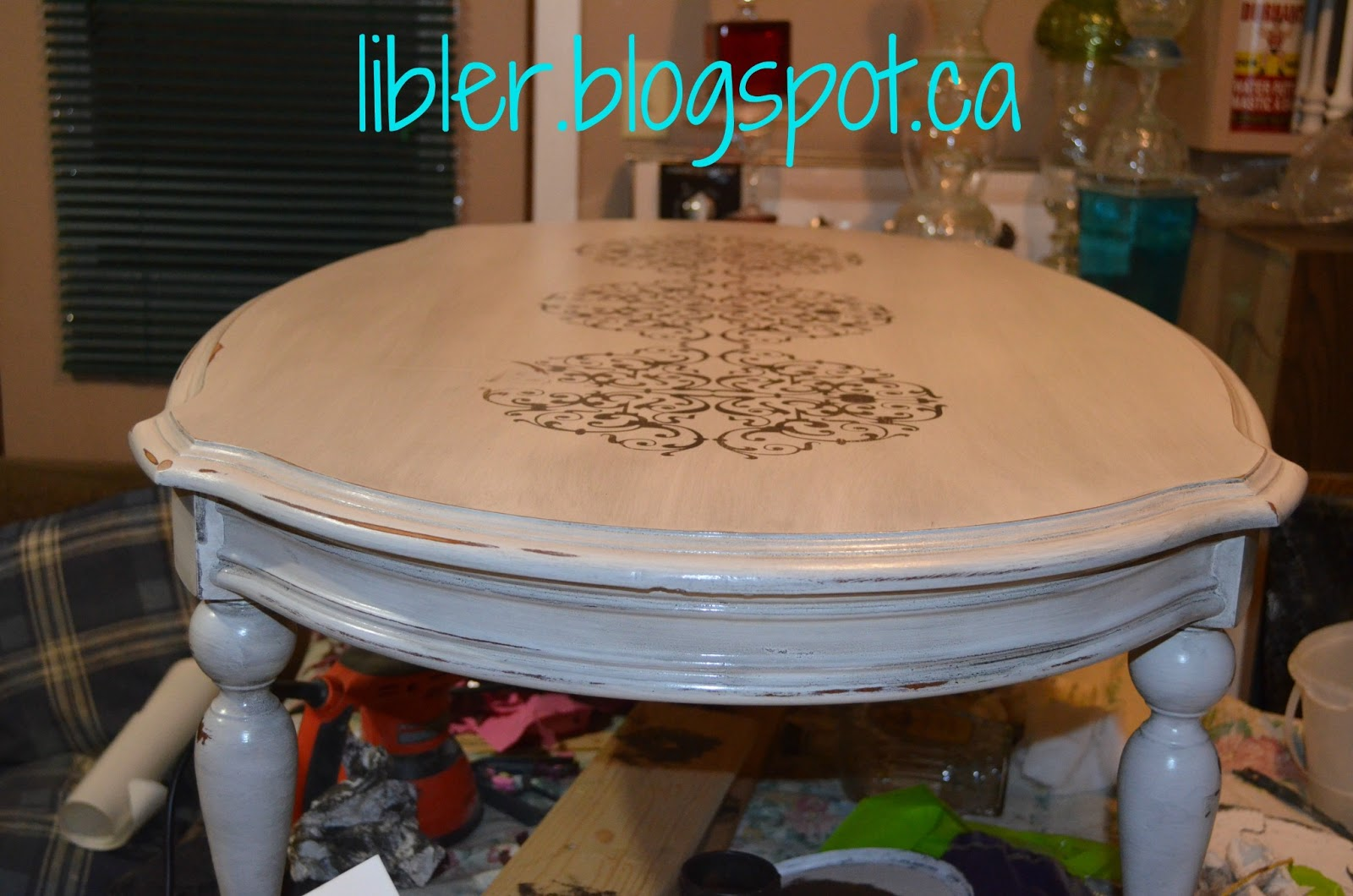 chalk paint coffee table chalk paint coffee table