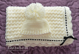 Free Crochet Patterns And Designs By Lisaauch Crochet Baby Blanket