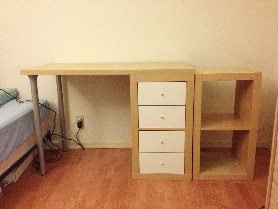 Ikea Expedit Schubladen J N Taylor And Co Building A Custom Ikea Desk From An