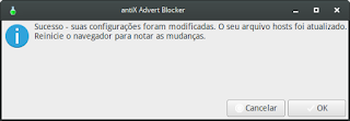 Como bloquear anuncios via Host