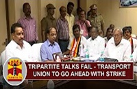 Tripartite Talks Fail – Transport Union goes ahead with Indefinite Strike