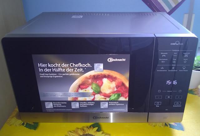 Mikrowelle von Bauknecht.