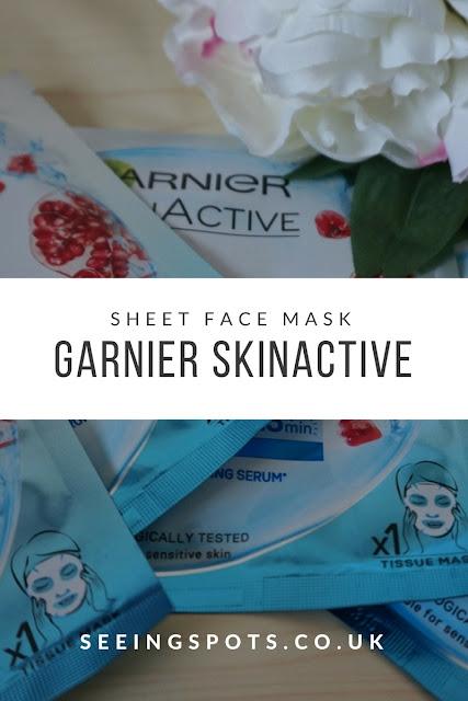Beauty | Garnier SkinActive Moisture Bomb Tissue Mask