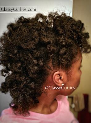 Curly mohawk tutorial - ClassyCurlies