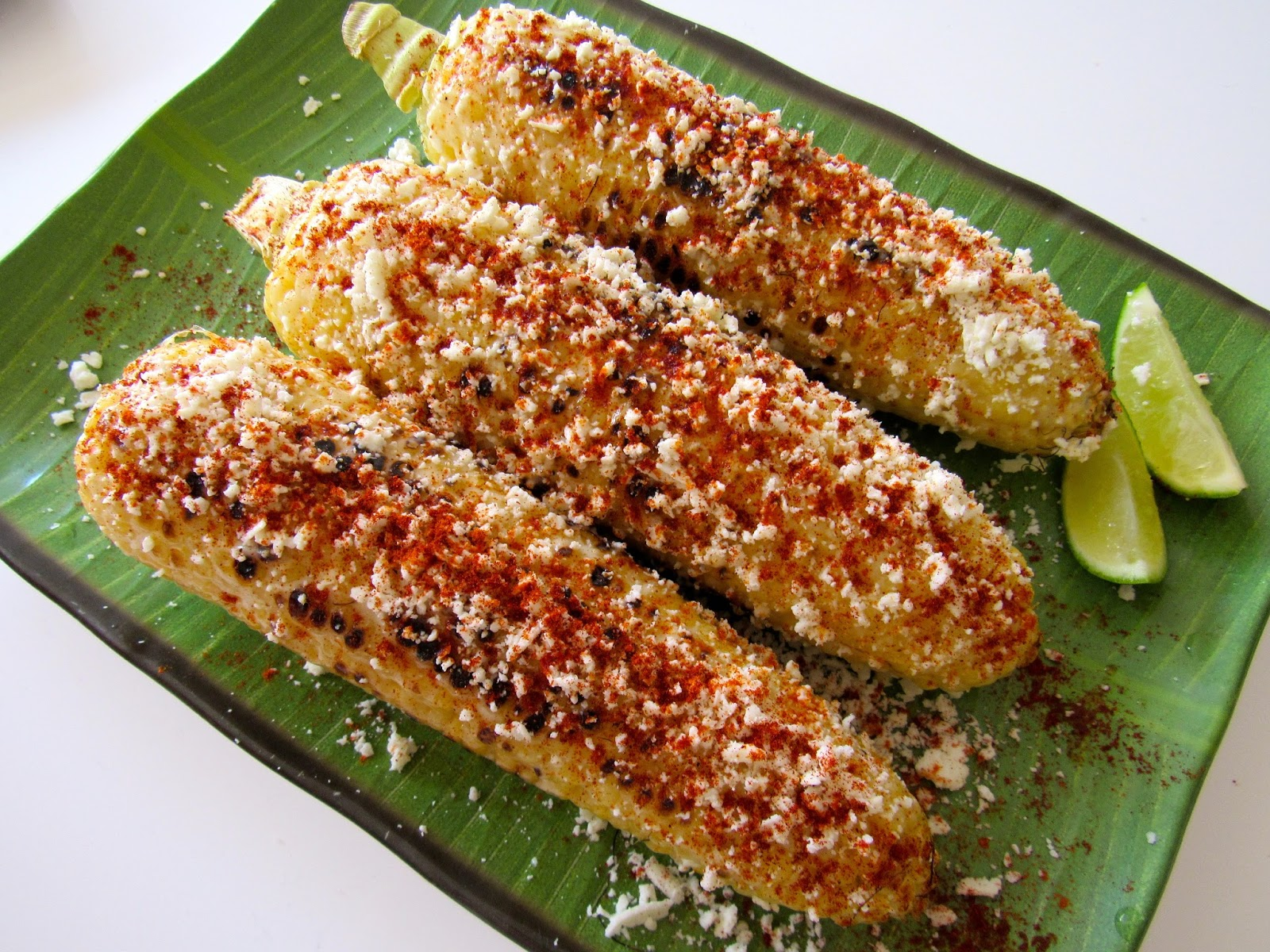 Sam Tan's Kitchen: Grilled Mexican Street Corn (Elotes