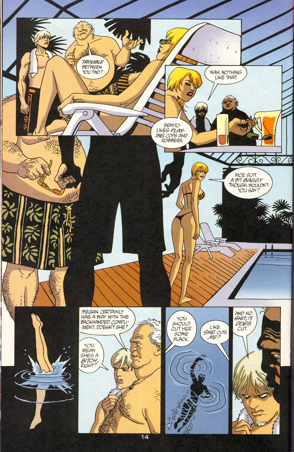 Read online 100 Bullets comic -  Issue #23 - 16