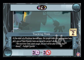 My Little Pony Tracking Tirek Absolute Discord CCG Card