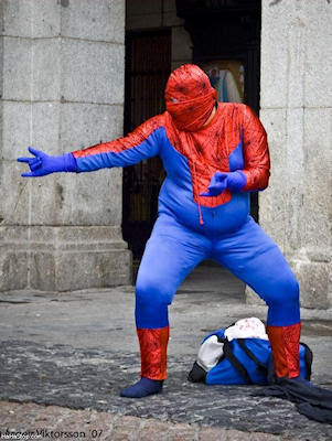 fat spider-man