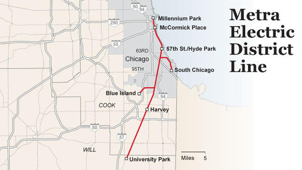 The Sixth Ward Discussions on converting Metra Electric to a