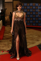 Actress Model Naaz Norouzi Pos in Leg Spit Dress at SIIMA Short Film Awards 2017 .COM 0186.JPG