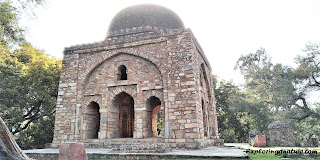 Barah Khamba at Hauz Khash