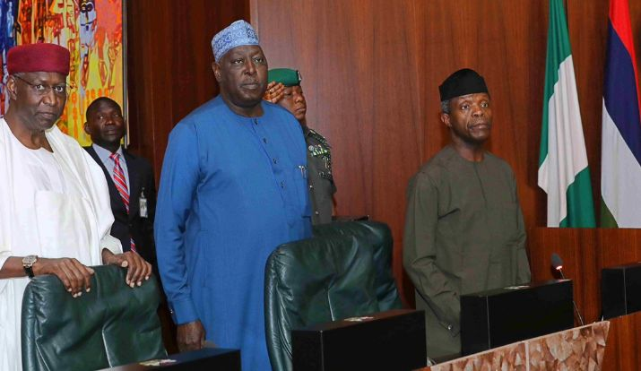 Vice President Osinbajo Presides Over FEC Meeting Today ...