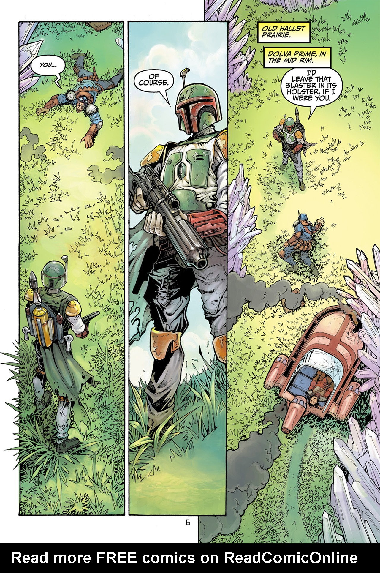 Read online Star Wars Adventures comic -  Issue # Issue Boba Fett and the Ship of Fear - 7