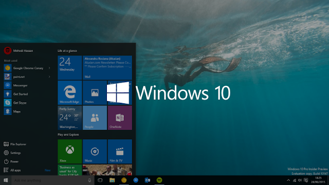 Download Windows 10 Lite Free startup Image