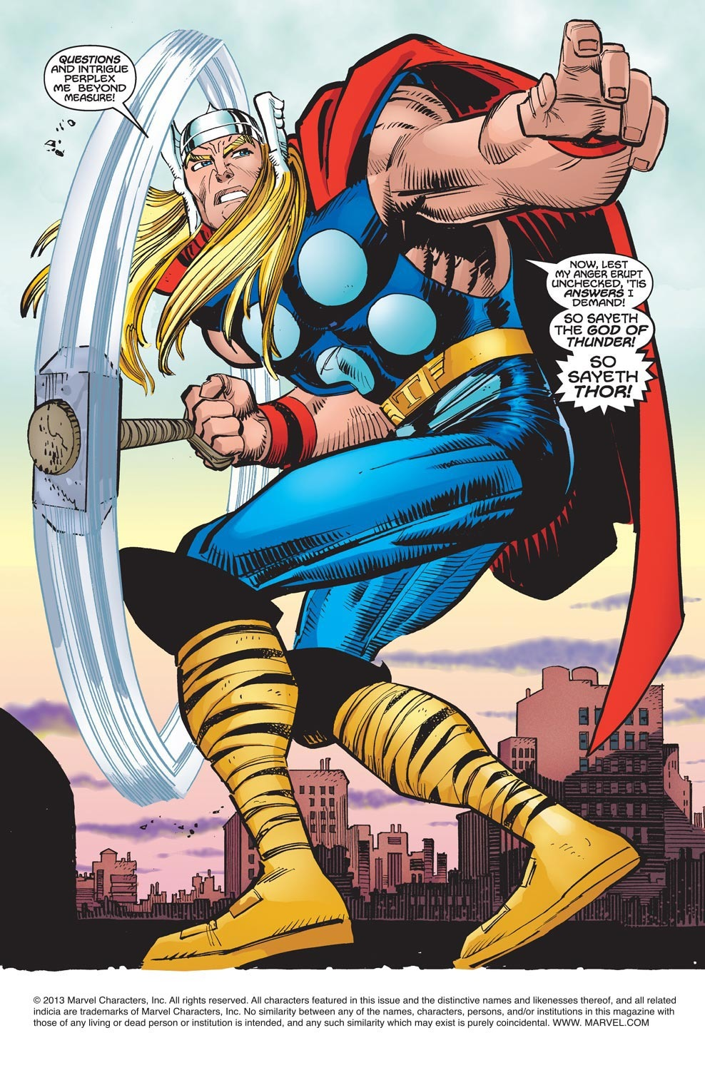 Thor (1998) Issue #21 #22 - English 2