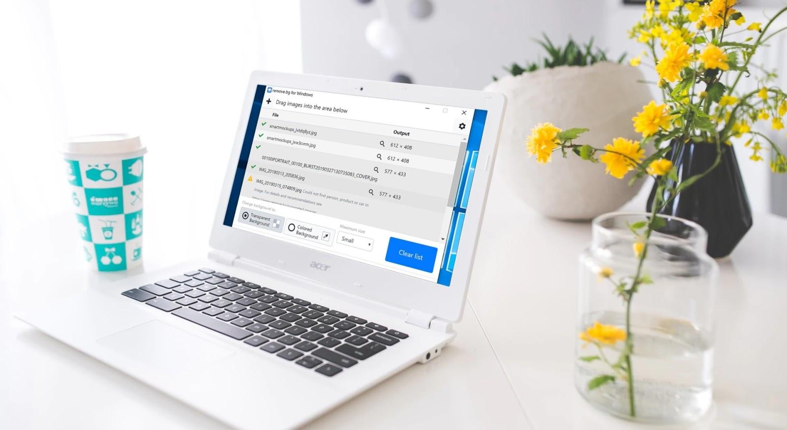 Remove.bg 大量圖片一鍵去背桌面軟體,每月免費50張去背圖