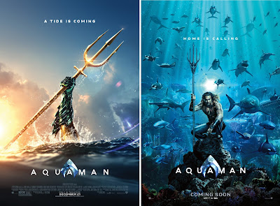 DC Comics' Aquaman Teaser Movie Posters & Banner