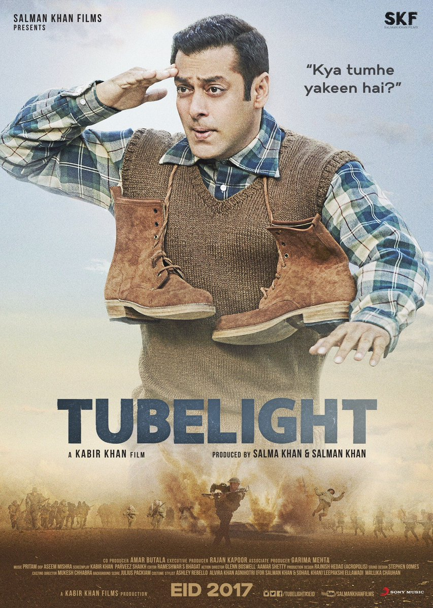 Salman Khan New Upcoming movie with kabir khan Tubelight Eid 2017, Salman khan next bollywood movie Tubelight 2017 release date: Eid 2017, Budget, Box Office, poster, actress, actors