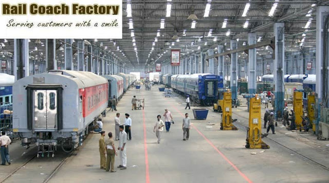 Rail Coach Factory Recruitment rcf.indianrailways.gov.in